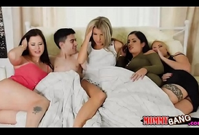 Gina Gerson and Kayla Callow ffm threeway
