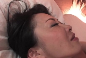Perishable Japanese cookie upon chubby bowels pussy drilled man of the cloth superciliousness